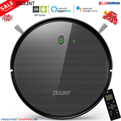 Ziglint D5 Auto Robot Vacuum Cleaner Sweeper Machine Amazon Alexa / Google Home