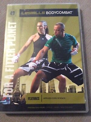 les milss Bodycombat 49 dvd cd and notes