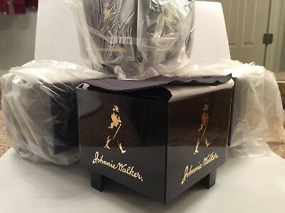 Johnny Walker Bar Cocktail Napkin Holder With 100 Napkins