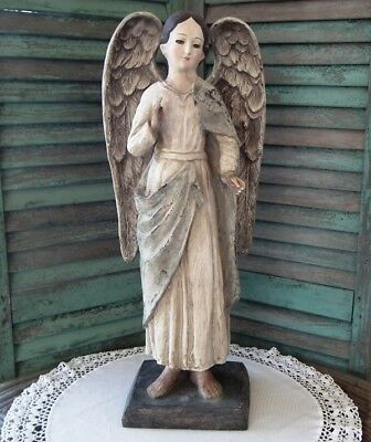 "BEAUTIFUL Large 26"" CODY FOSTER Antique-Style ~ SANTA MARIA SANTOS ~ New!"