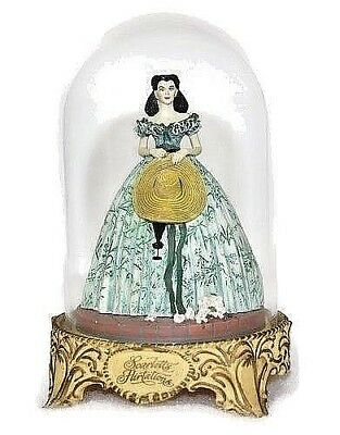 """""""Scarlett's Flirtations"""" Gone With The Wind 1993 Numbered Limited Edition w/Dome"""