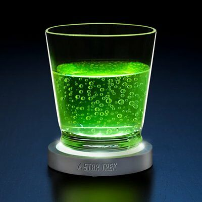 Star Trek Light and Sound Transporter Pad LED Coaster NEW FAST Shipping!