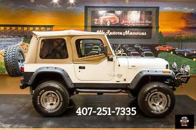 1983 CJ Base 2dr 4WD SUV 1983 Jeep Wrangler, White with 17,826 Miles available now!