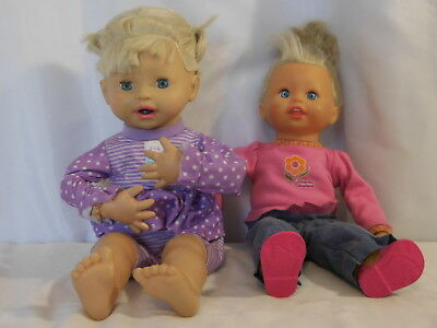 Fisher Price Little Mommy Baby Knows Interactive + Little Mommy My Very Real Bab