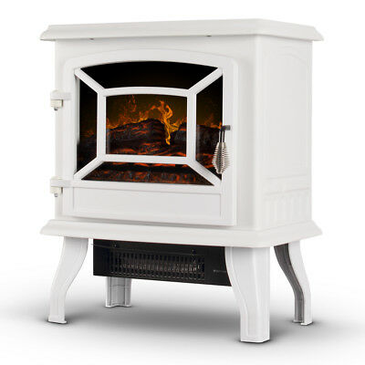 17 Inch Electric Infrared Fireplace Stove Heater With 3d Flame