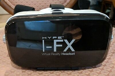 Hype I-FX Virtual Reality Headset with Built-In Stereo Earphones