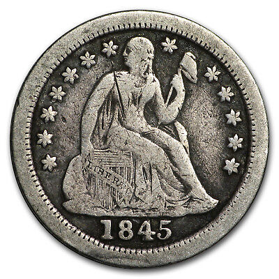 1845-O Liberty Seated Dime Fine - SKU#180954