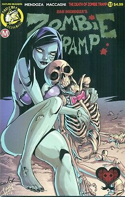 Zombie Tramp #53 Mendoza Maccagni Variant Cover A Action Lab Dollface NM/M 2018