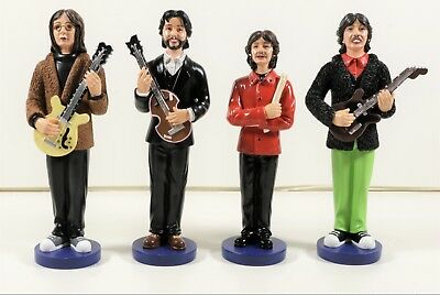 The Beatles Ceramic Figurines with Instruments (671)