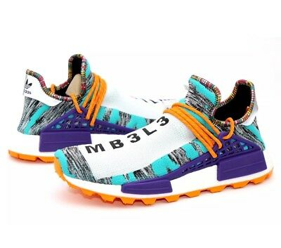 5e98d7bed NEW ADIDAS PHARRELL Williams NMD Human Race Solar Pack HU - Size 9 ...