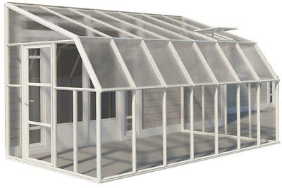 Rion Sun Room 8 ft. x 14 ft. Clear Greenhouse
