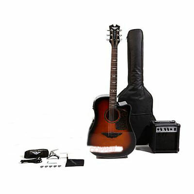 Keith Urban Acoustic-Electric Ripcord Guitar Package With Amp Gorgeous Copper