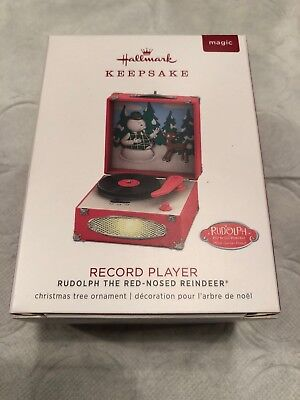 Hallmark 2018 Rudolph the Red-Nosed Reindeer® Record Player Ornament