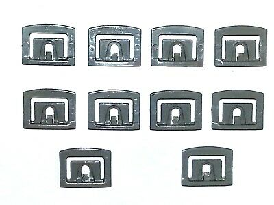 68-96 Ford Truck Front Windshield Rear Window Moulding Molding Trim Clips 10p NN