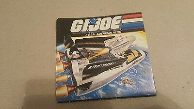 GI JOE A REAL AMERICAN HERO CATALOG Vintage Brochure Booklet COMPLETE shuttle