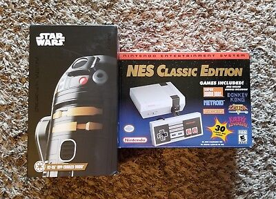 Authentic Nintendo NES Classic Edition and Sphero R2-Q5 App-Enabled Droid