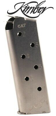 KIMBER 1911 45 ACP Compact & Ultra Stainless Magazine 1000173A Mag