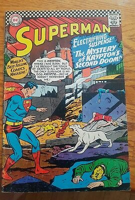 Superman #189 Dc Silver Age *** ** Higher Quality Grade!