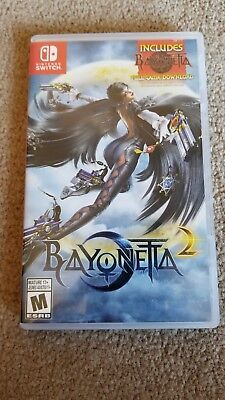 Bayonetta 2 (Nintendo Switch, 2018) - Adult Owned - Smoke Free Home