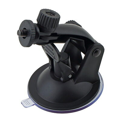 Car Suction Cup Mount Holder with Tripod Adapter for Gopro Hero 3 2 1 Camera GT