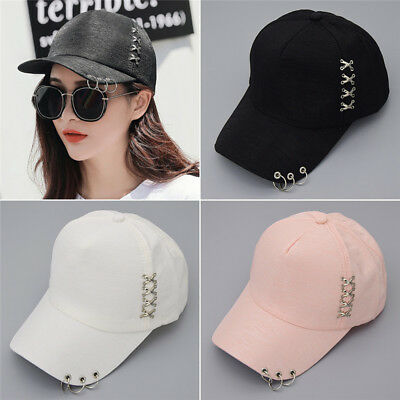 Kpop BTS Ring Decor Baseball Cap Cotton Hat Adjustable Men Women Punk Style Hot