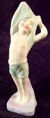 "Royal Doulton Figurine  "" To Bed  "" Beautiful Colors"