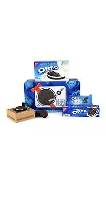 Oreo Music Box-Cookie Record Player- Collectible Holiday/ Christmas Gift Tin