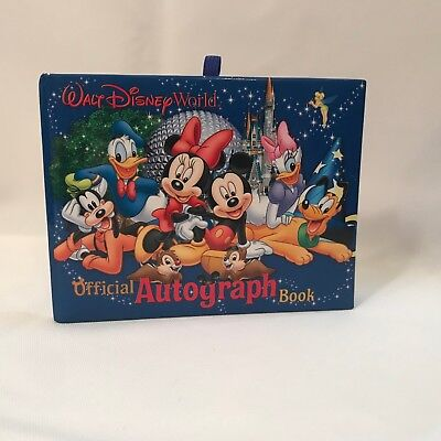 WALT DISNEY WORLD ~ Official Autograph Book - UNUSED