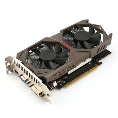 128Bit Graphics Card for GTX1050 GPU 2G GDDR5 Gaming Video Card with Dual Fan HG