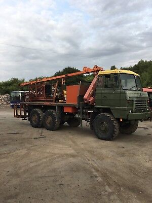 Foden 6x6 With Crane And Demountable Drilling Rig