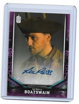 Lee Ross As Boatswain 2018 Doctor Who Auto Autograph Qty