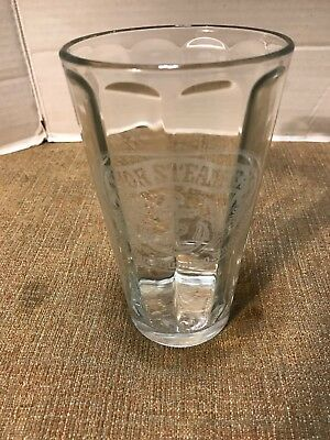 Anchor Steam Beer Pint Glass San Francisco Calif Etched Anchor Logo Clear 6""