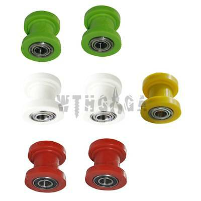 8/10mm Chain Roller Slider Tensioner Guide Pulley Dirt Pit Pro Bike Motorcycle