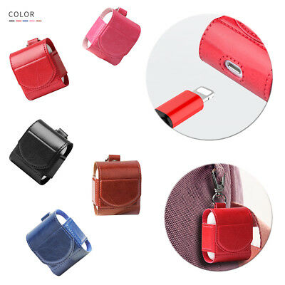 Leather Airpods Earphone Protective Case Skin Magnet Cover For Apple AirPod Hot