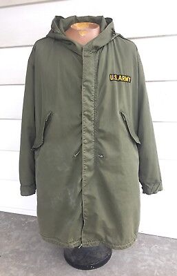 M-1951 U.S. Army Winter Fishtale Parka with Liner