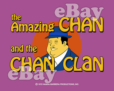 Rare! AMAZING CHAN AND THE CHAN CLAN Cartoon TV Photo HANNA BARBERA Studios