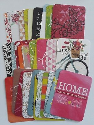 Project Life Cards Becky Higgins 'Bloom'  Partial kit - 3' X 4' - 50 Cards
