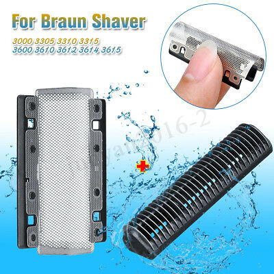 628 Foil + Cutter For Braun Shaver 3000 3305 3310 3315 3600 3610 3612 3614 3615