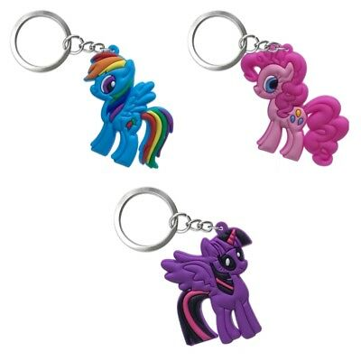 3PCS Little Horse Chain Key Ring Kids Toy Key chains Key Holder Charm Party Gift