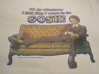 "2005 Napoleon Dynamite ""I'll Do Whatever I Feel Like I Want To Do GOSH"" T-Shirt"