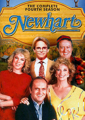 Newhart The Complete Fourth Season 4 (DVD 2014, 3-Disc Set) Sealed new TV Series