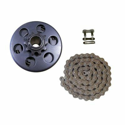 """Centrifugal Clutch 3/4"""" Bore 10 Tooth with 40/41/420 Chain Go Kart Mini ZN"""