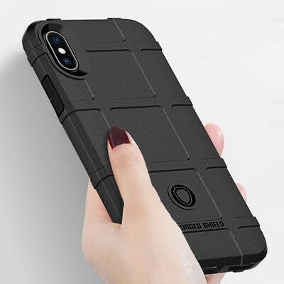 For iPhone 6S 7 8 Plus XS Max XR Shockproof Soft Rugged Armor Case Full Cover