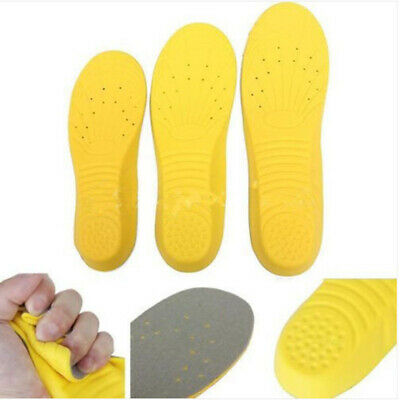 1 Pair Memory Foam Orthotic Arch Insert Insoles Shoe Pads Cushion Sport Support