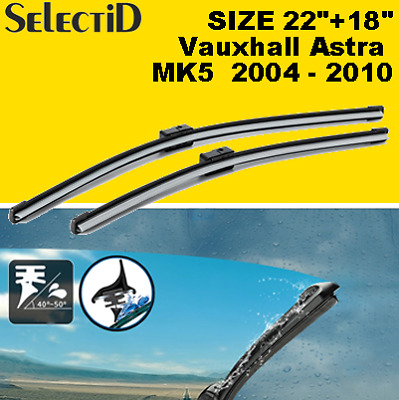 Vauxhall Meriva 2010-on Full set of 3 windscreen wiper blades from HEYNER