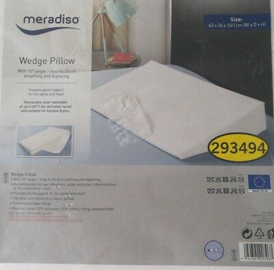 Comfortnights  Bed Wedge with free washable cover.