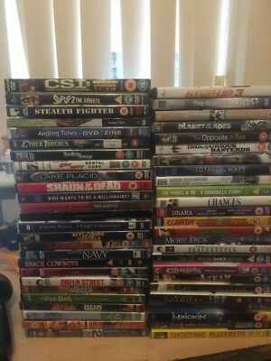 Sale Job Lot 50 DVDS Collection Bundle