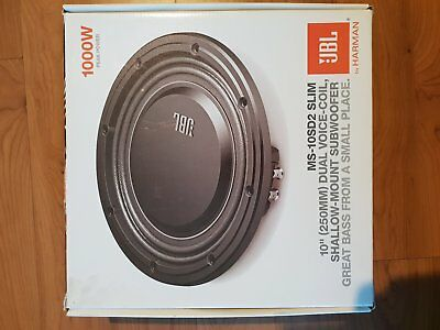 Subwoofer JBL MS-10SD2 slim