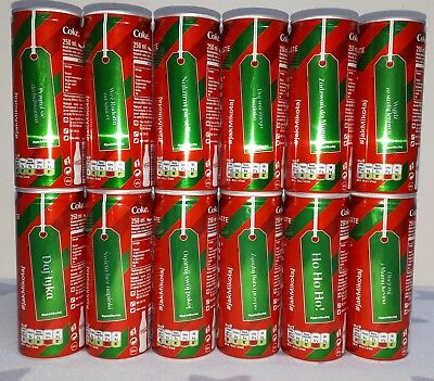 COCA COLA CANS x 12 from Poland . Full set . 250 ml