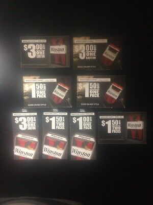 Winston Cigarette Coupons – $16 In Savings